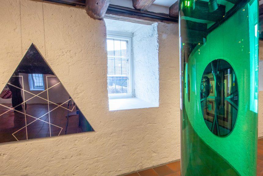 Museum im Alten Bau . Martina Schumacher . Räumliche Spiegelbilder