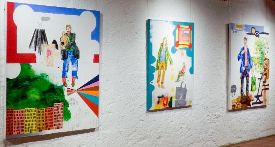 Galerie im Alten Bau . Ulrich Klieber · Menschen aus aller Welt