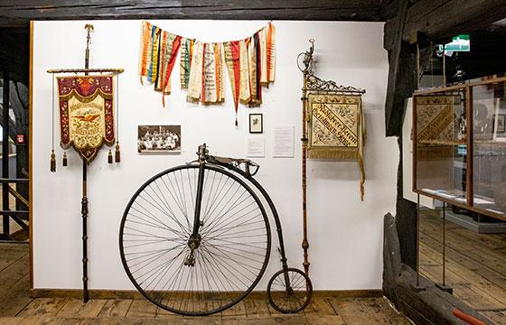 Museum im Alten Bau Geislingen . Vereine Fahrrad