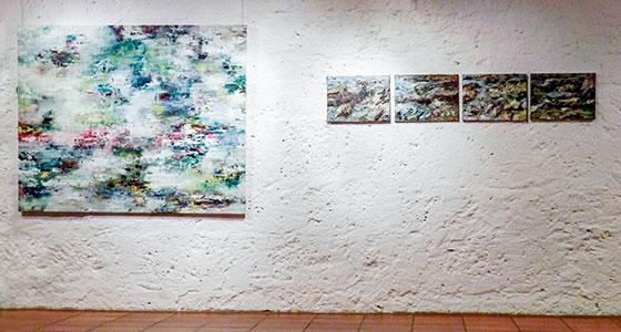 Museum im Alten Bau Geislingen . Kunstausstellung Rudi Weiss